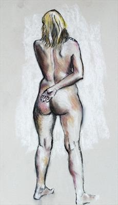 Nude in Pastel