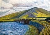 Disused Railway Bridge, Caherciveen by Richard Waldron, Painting, Oil on canvas