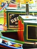 Decorated Barges at Gloucester Dock by RichardWaldron-art, Photography